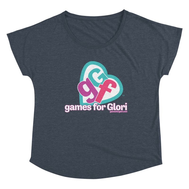 Games for Glori Women's Dolman Scoop Neck by Games for Glori Shop