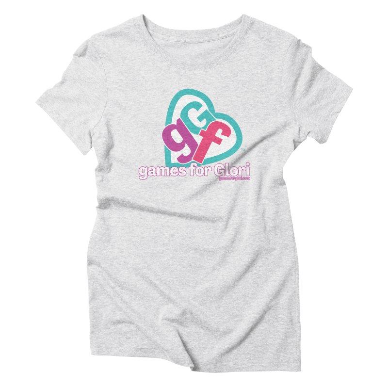 Games for Glori Women's Triblend T-Shirt by Games for Glori Shop