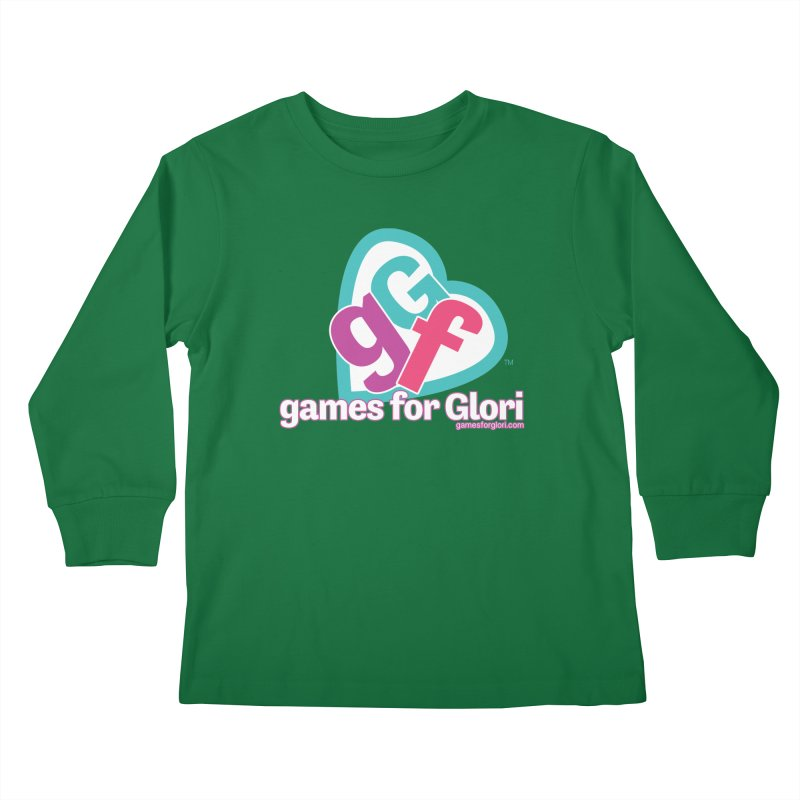 Games for Glori Kids Longsleeve T-Shirt by Games for Glori Shop