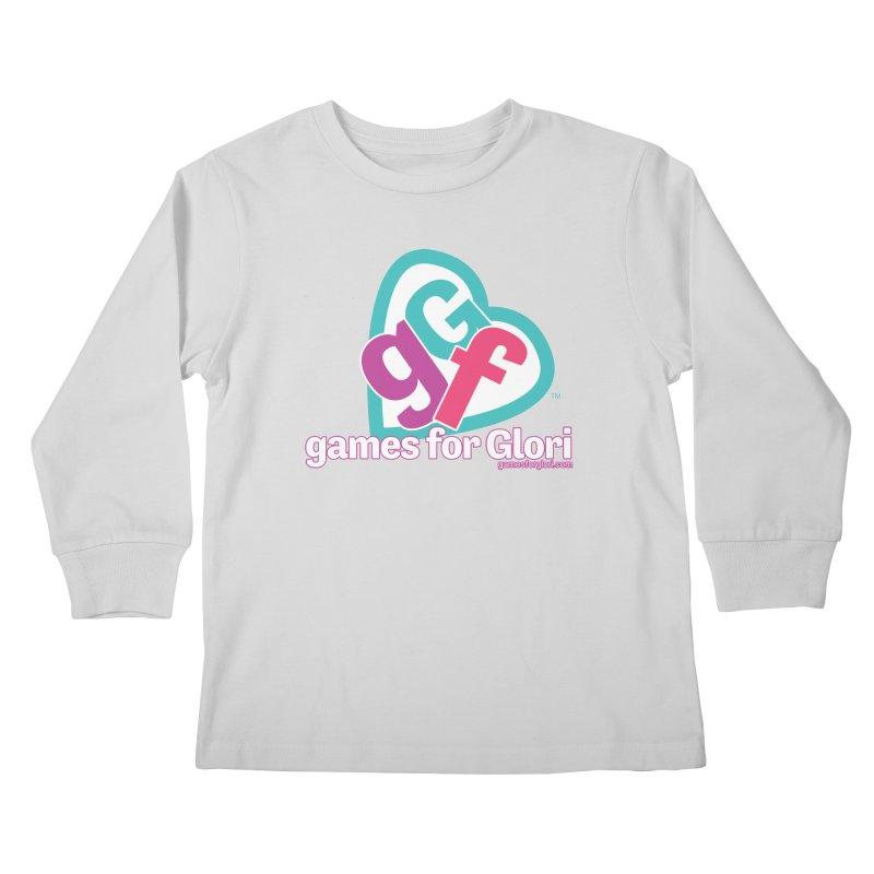Games for Glori Kids Longsleeve T-Shirt by Games for Glori Shop