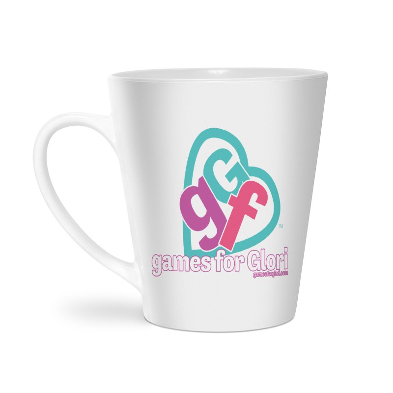 Games for Glori Accessories Latte Mug by Games for Glori Shop