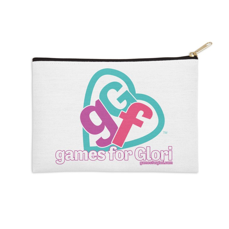 Games for Glori Accessories Zip Pouch by Games for Glori Shop