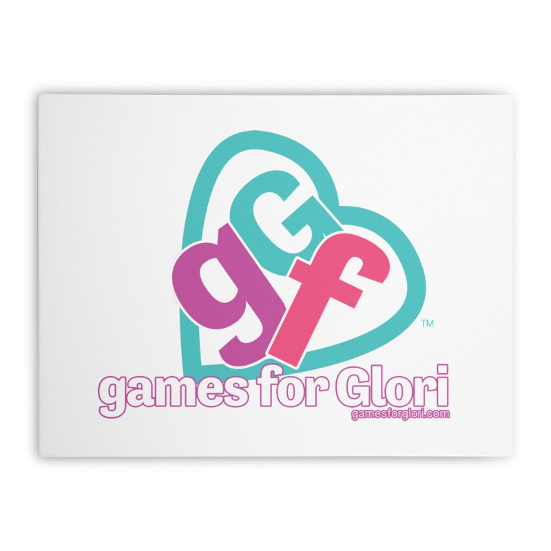 Games for Glori Home Stretched Canvas by Games for Glori Shop