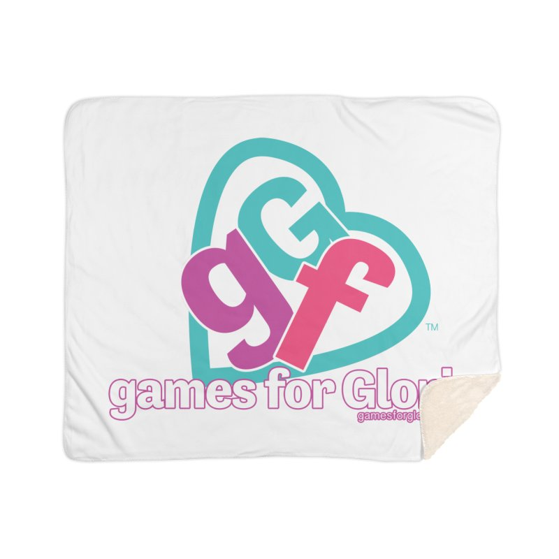 Games for Glori Home Sherpa Blanket Blanket by Games for Glori Shop