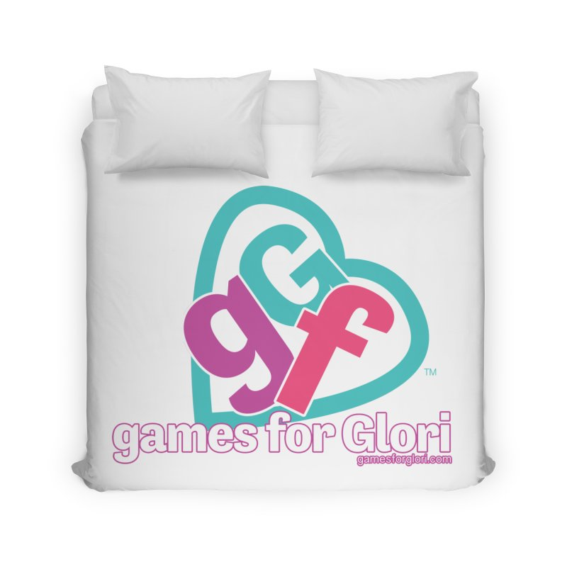 Games for Glori Home Duvet by Games for Glori Shop