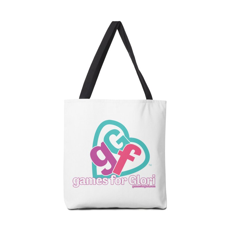 Games for Glori Accessories Tote Bag Bag by Games for Glori Shop