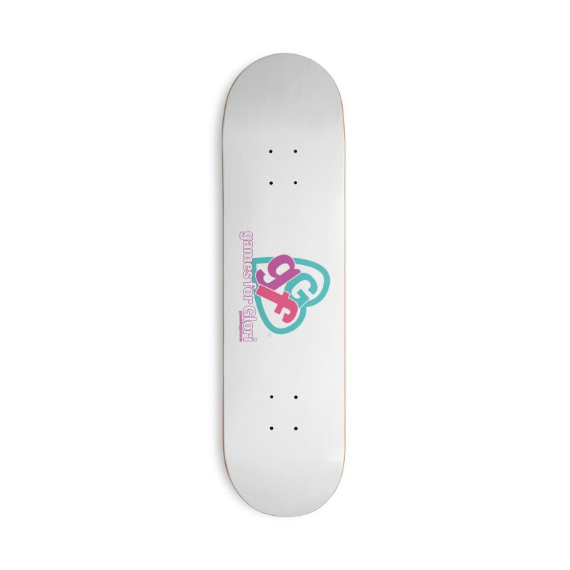 Games for Glori Accessories Deck Only Skateboard by Games for Glori Shop