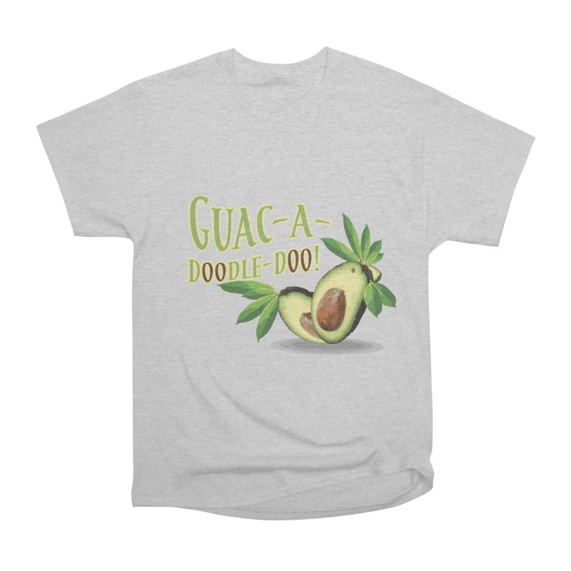Guac-A-Doodle-Doo Men's T-Shirt by Games for Glori Shop
