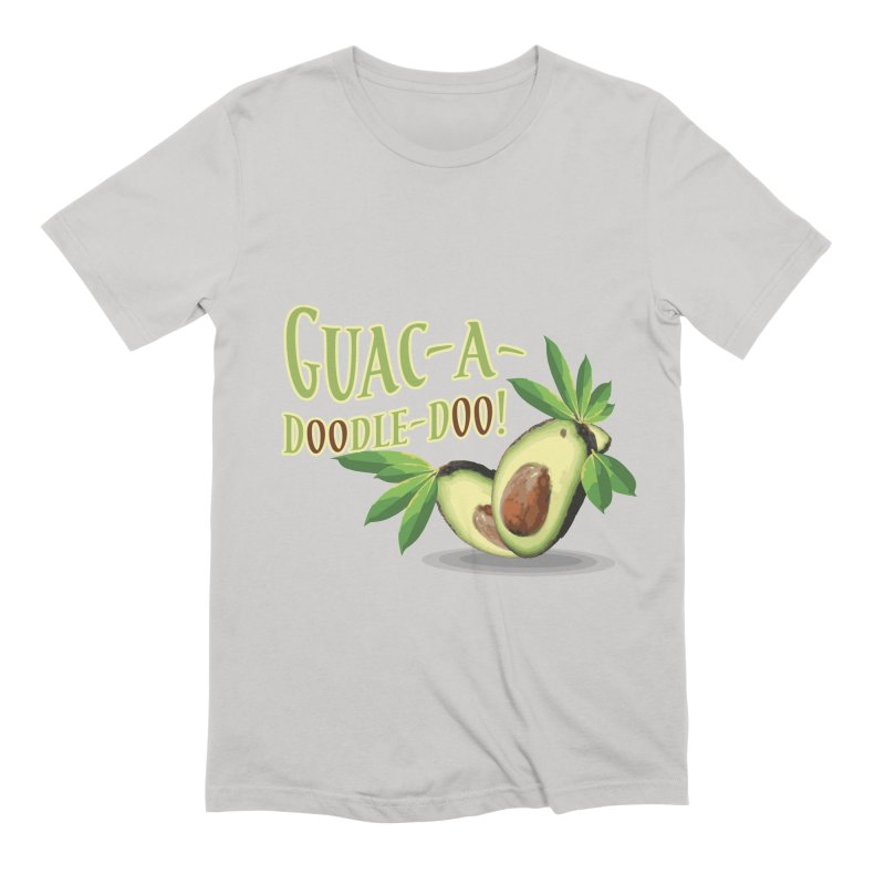 Guac-A-Doodle-Doo Men's Extra Soft T-Shirt by Games for Glori Shop
