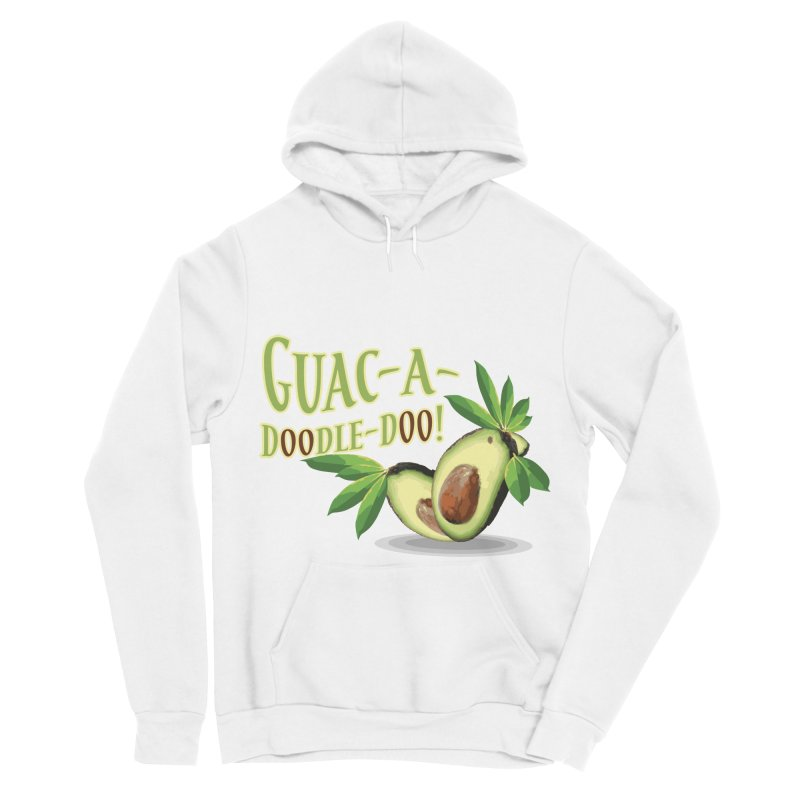 Guac-A-Doodle-Doo Women's Sponge Fleece Pullover Hoody by Games for Glori Shop