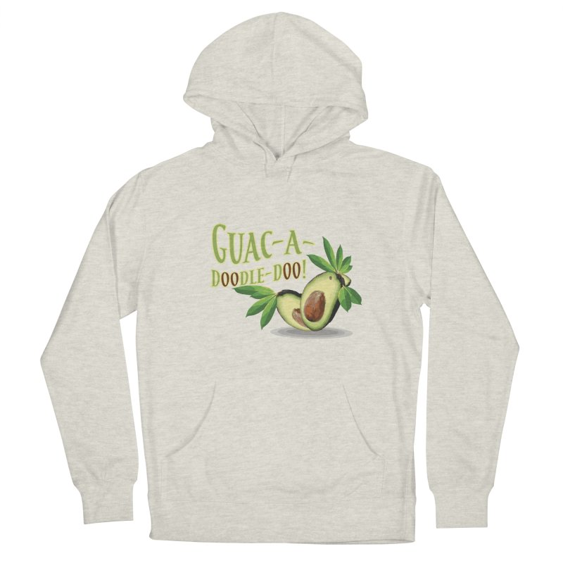 Guac-A-Doodle-Doo Women's French Terry Pullover Hoody by Games for Glori Shop