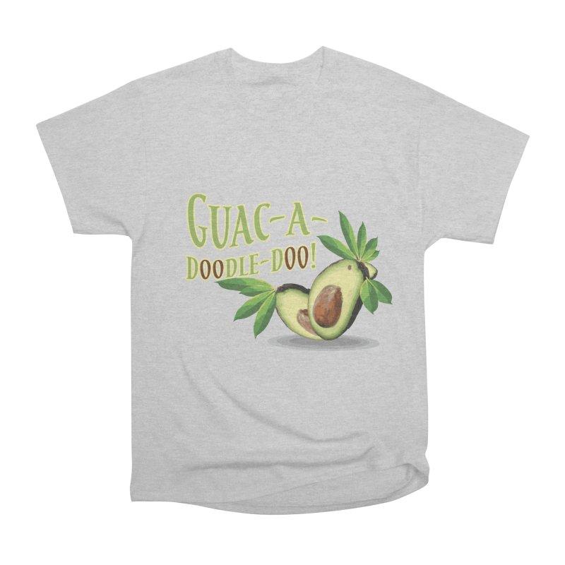 Guac-A-Doodle-Doo Men's Heavyweight T-Shirt by Games for Glori Shop