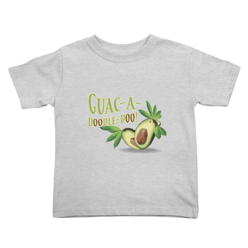 Guac-A-Doodle-Doo Kids Toddler T-Shirt by Games for Glori Shop