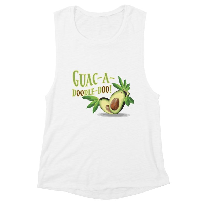 Guac-A-Doodle-Doo Women's Tank by Games for Glori Shop