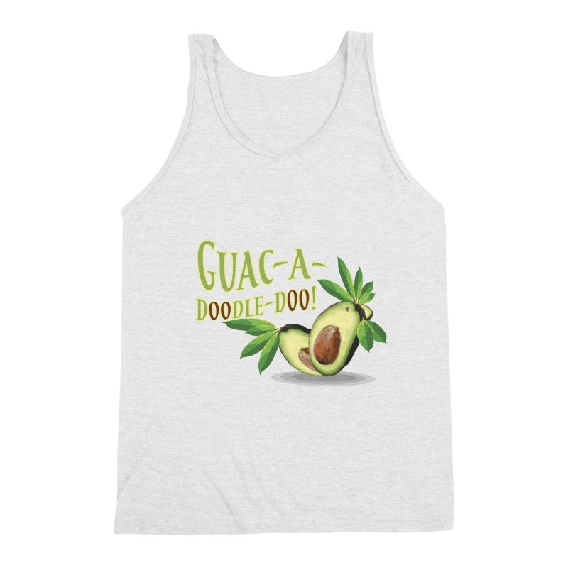 Guac-A-Doodle-Doo Men's Triblend Tank by Games for Glori Shop