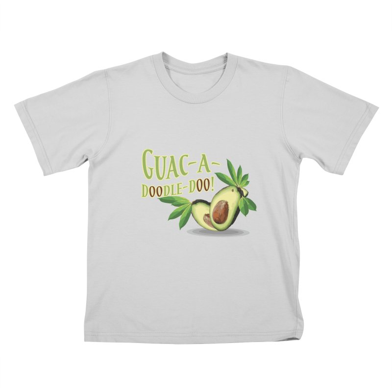 Guac-A-Doodle-Doo Kids T-Shirt by Games for Glori Shop