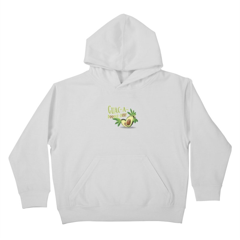 Guac-A-Doodle-Doo Kids Pullover Hoody by Games for Glori Shop