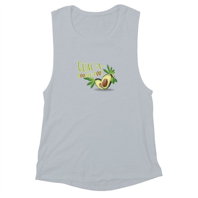 Guac-A-Doodle-Doo Women's Muscle Tank by Games for Glori Shop