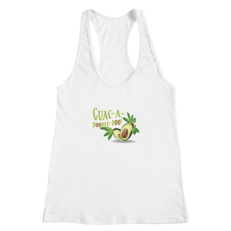 Guac-A-Doodle-Doo Women's Racerback Tank by Games for Glori Shop