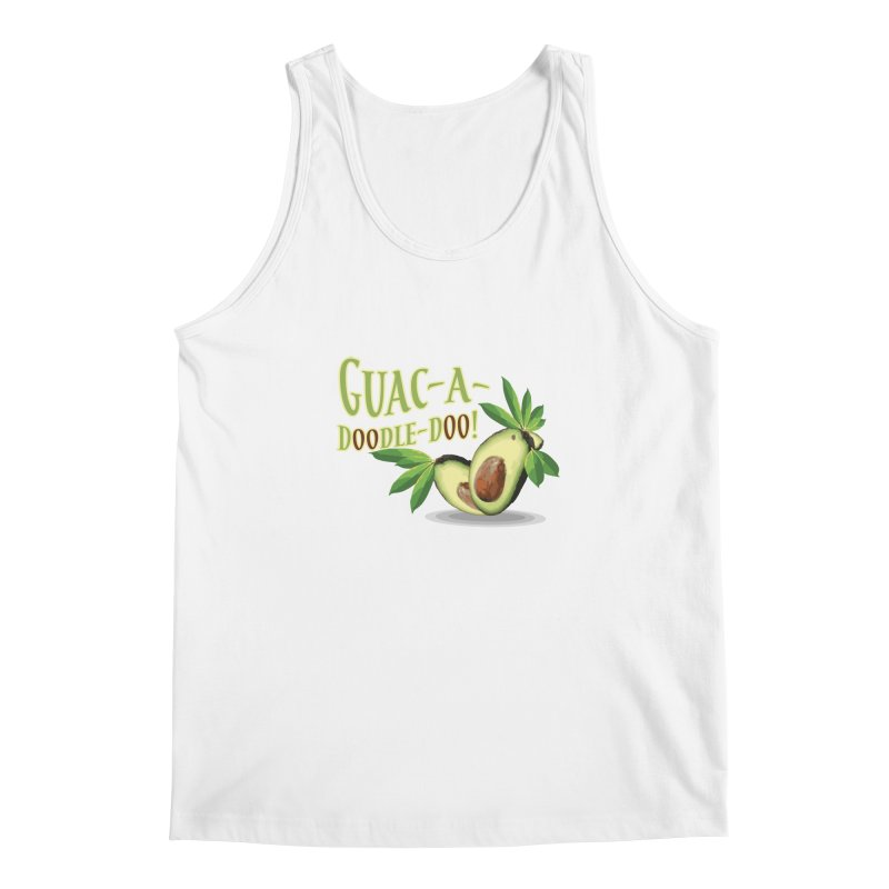 Guac-A-Doodle-Doo Men's Regular Tank by Games for Glori Shop