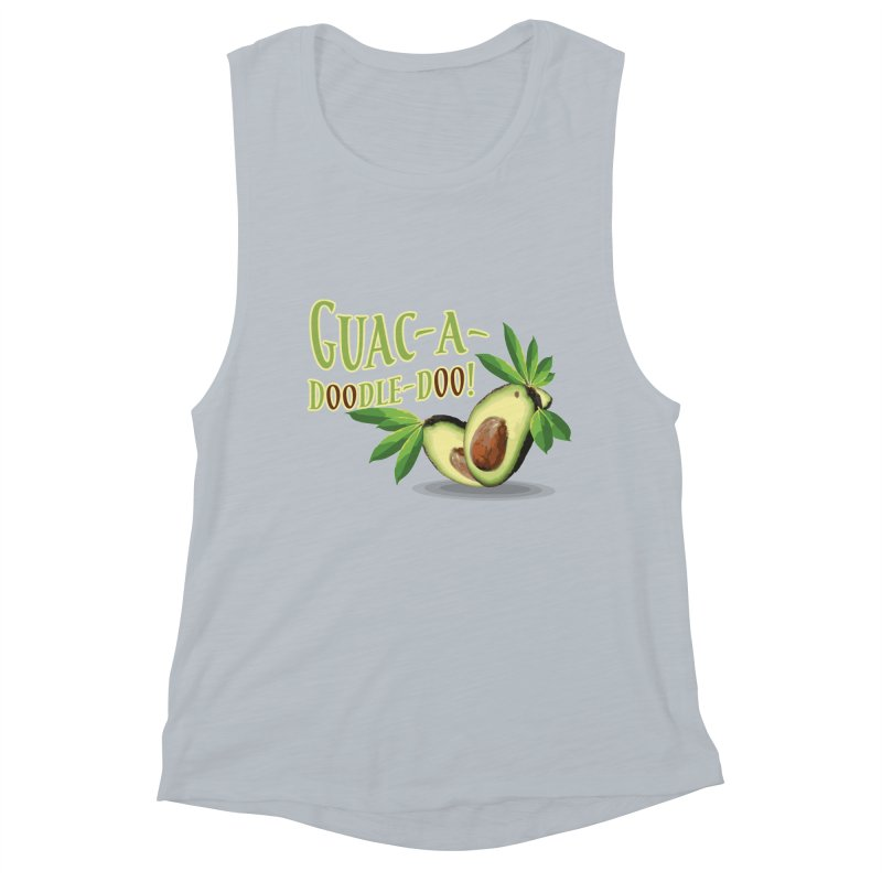 Guac-A-Doodle-Doo Women's Muscle Tank by Games for Glori Shop
