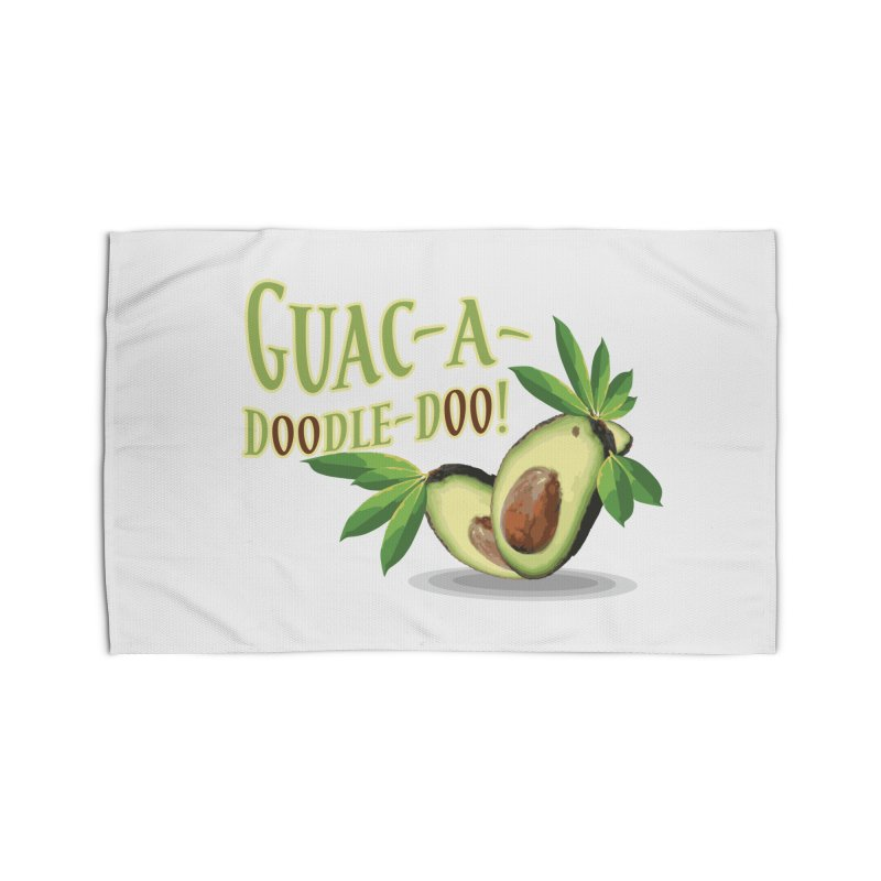 Guac-A-Doodle-Doo Home Rug by Games for Glori Shop