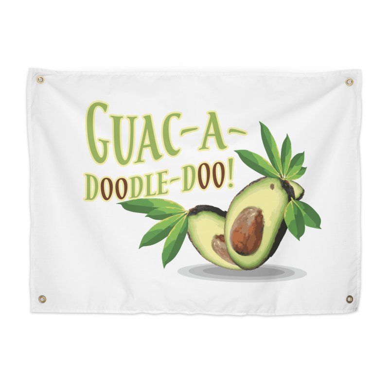 Guac-A-Doodle-Doo Home Tapestry by Games for Glori Shop