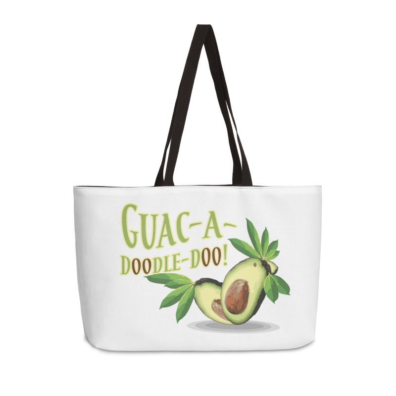 Guac-A-Doodle-Doo Accessories Weekender Bag Bag by Games for Glori Shop