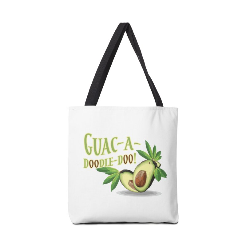 Guac-A-Doodle-Doo Accessories Tote Bag Bag by Games for Glori Shop