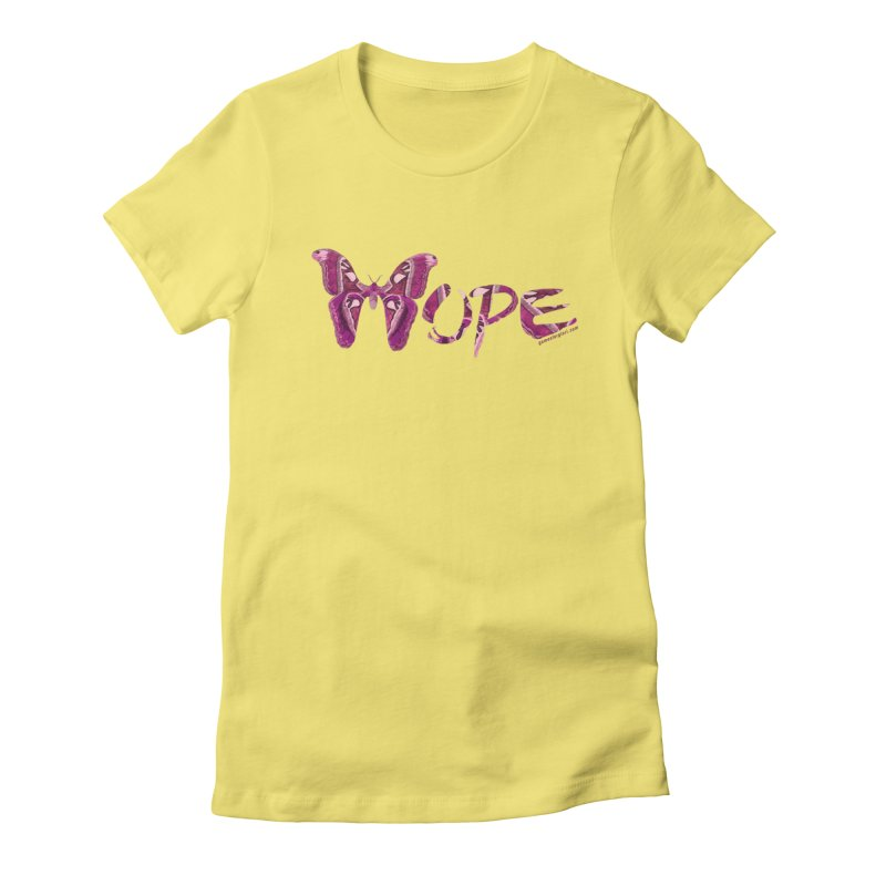 Hope Women's Fitted T-Shirt by Games for Glori Shop