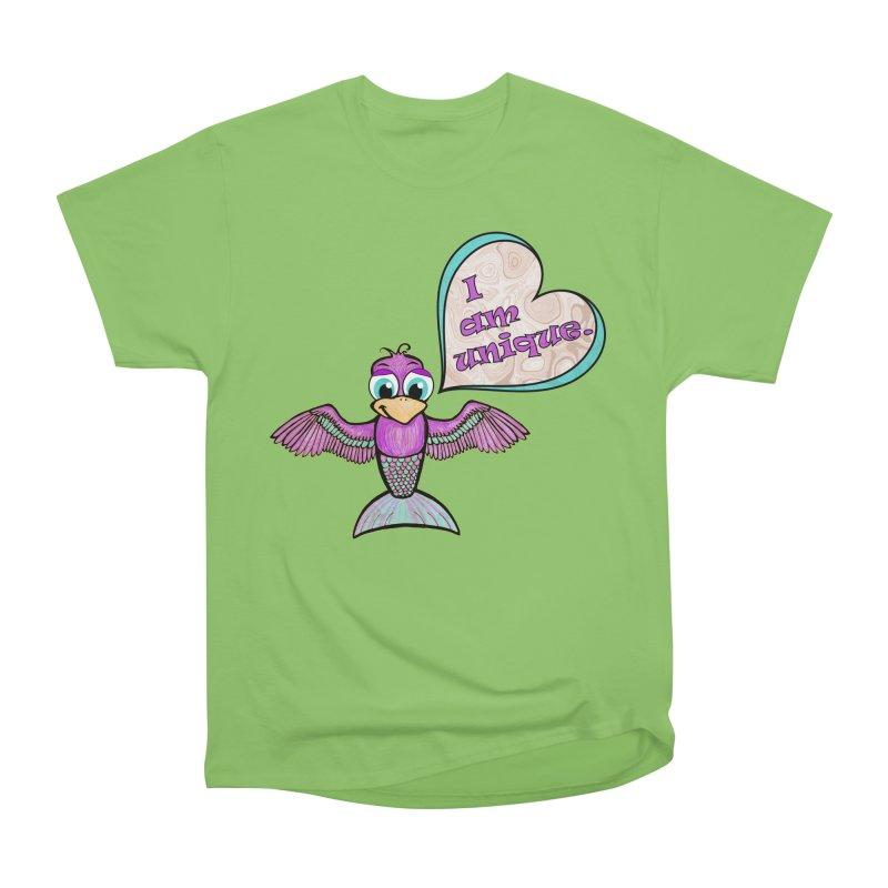 I am unique Women's Heavyweight Unisex T-Shirt by Games for Glori Shop