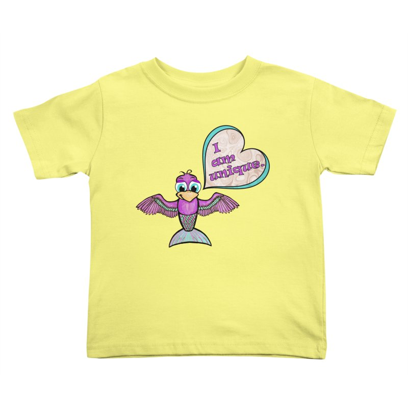 I am unique Kids Toddler T-Shirt by Games for Glori Shop