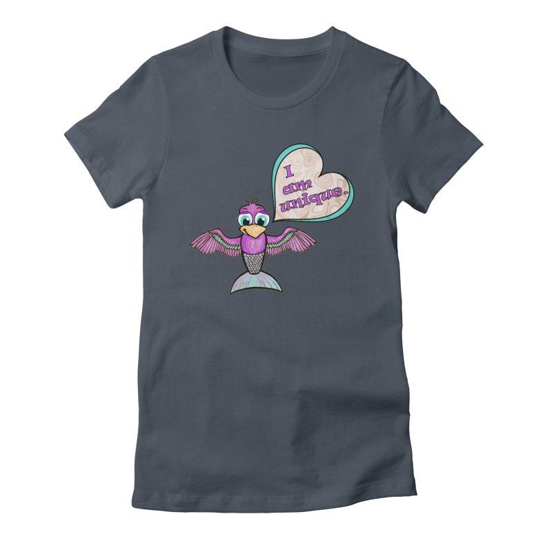 I am unique Women's T-Shirt by Games for Glori Shop