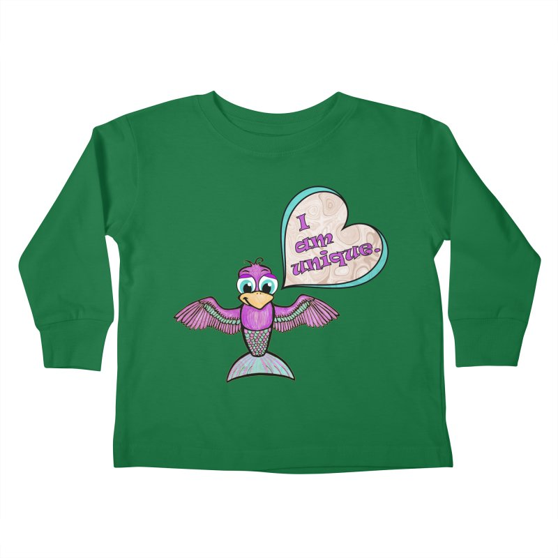 I am unique Kids Toddler Longsleeve T-Shirt by Games for Glori Shop