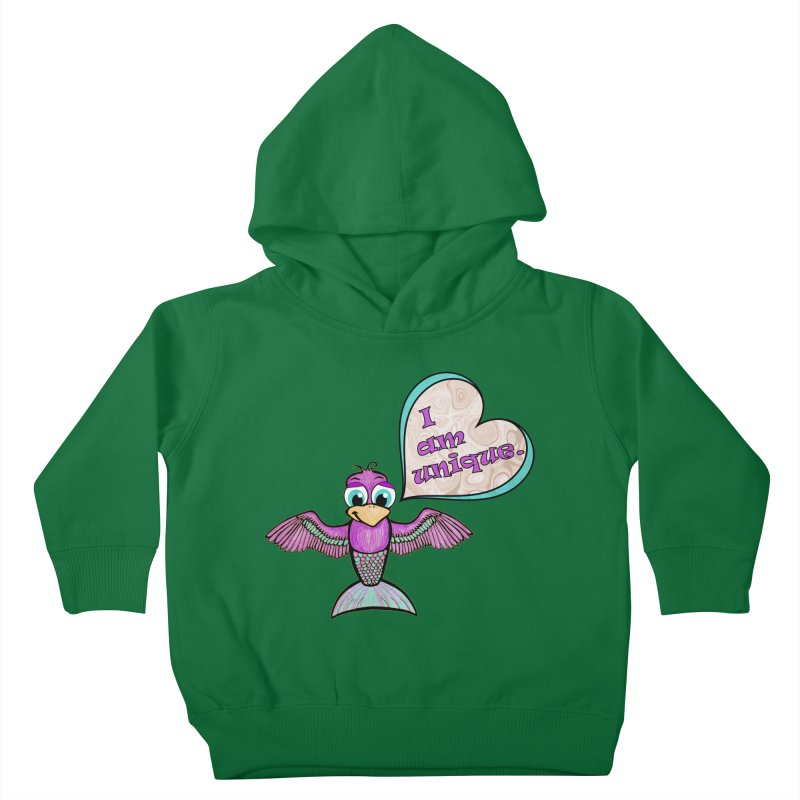 I am unique Kids Toddler Pullover Hoody by Games for Glori Shop
