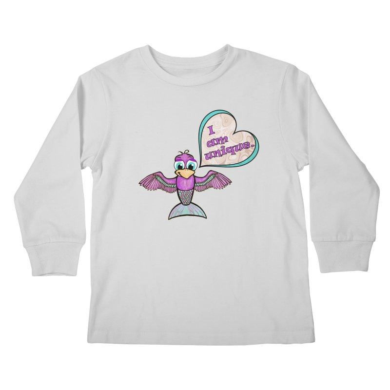 I am unique Kids Longsleeve T-Shirt by Games for Glori Shop