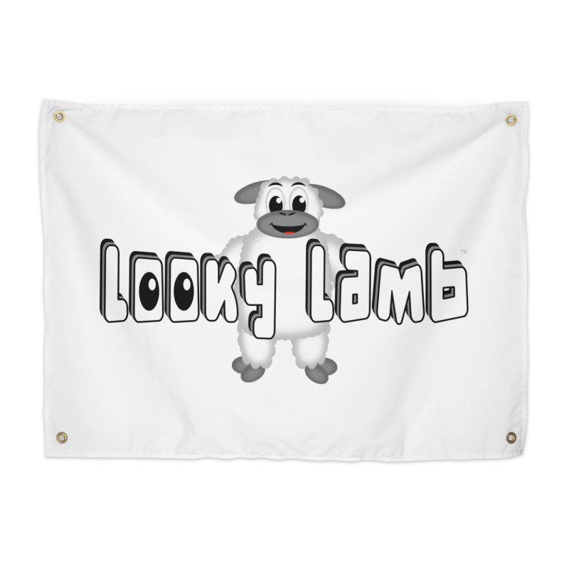 Looky Lamb Home Tapestry by Games for Glori Shop