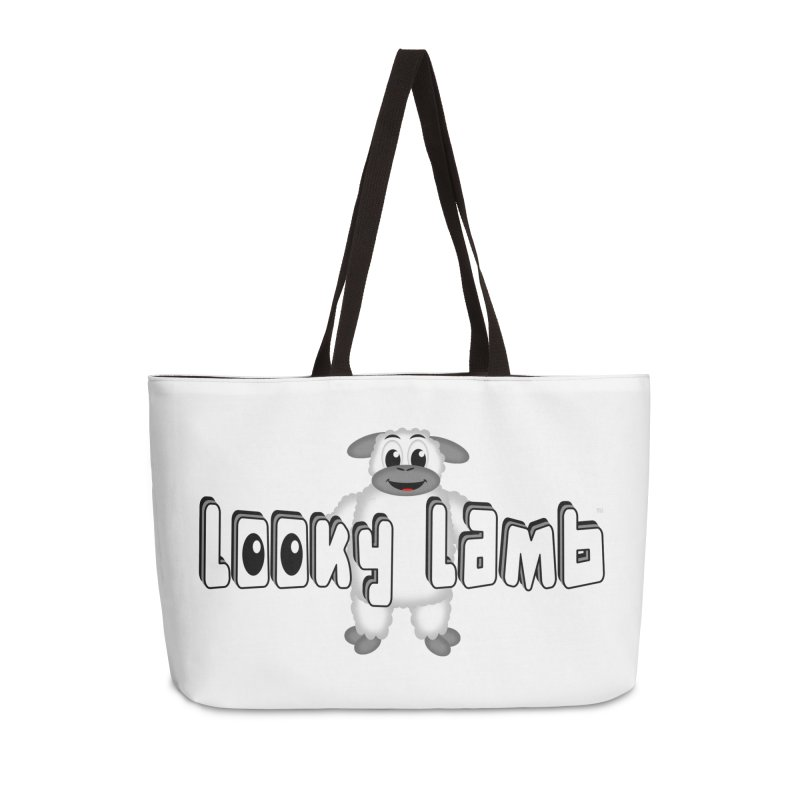 Looky Lamb Accessories Weekender Bag Bag by Games for Glori Shop