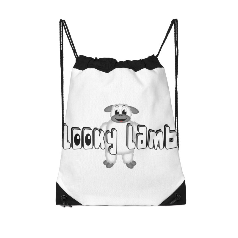 Looky Lamb Accessories Drawstring Bag Bag by Games for Glori Shop