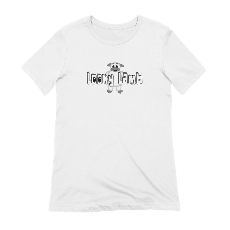 Looky Lamb Women's Extra Soft T-Shirt by Games for Glori Shop