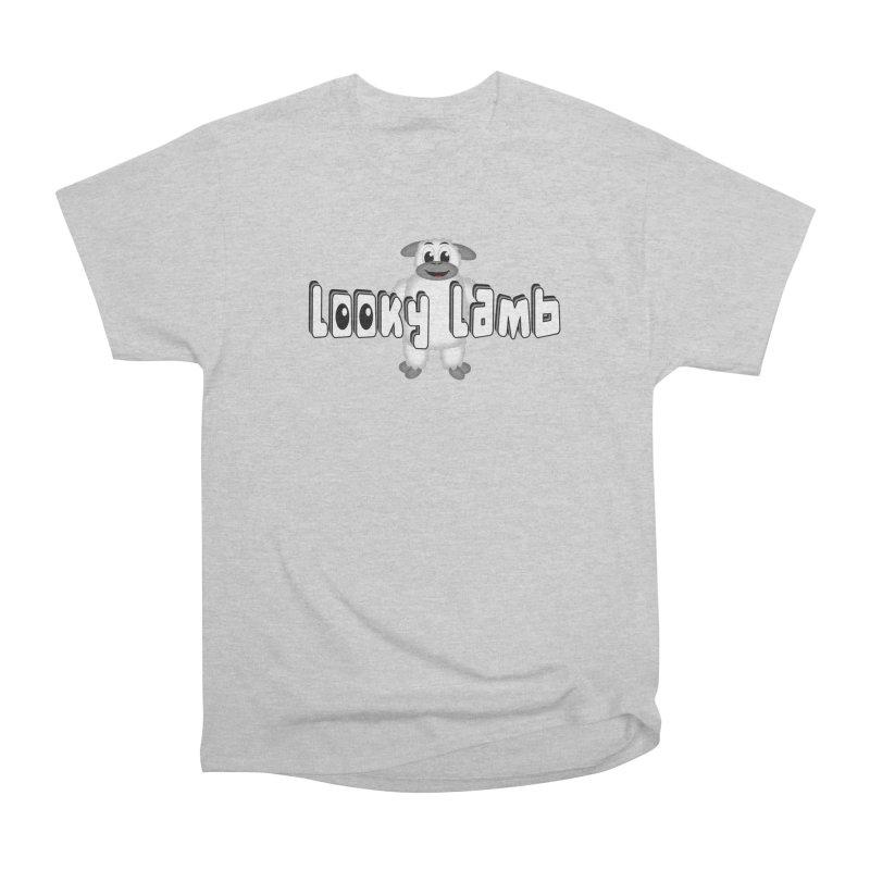Looky Lamb Men's T-Shirt by Games for Glori Shop