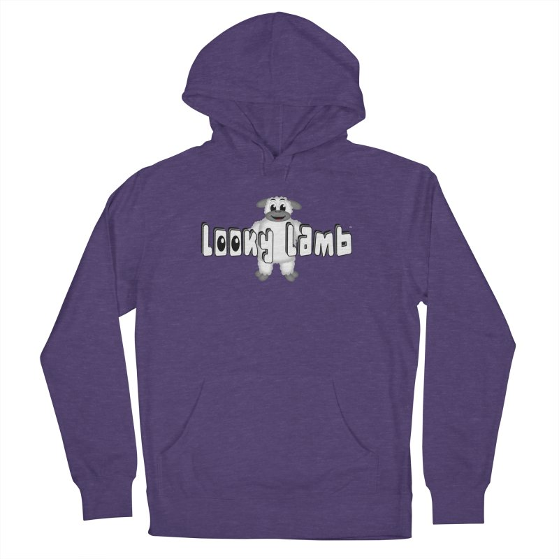 Looky Lamb Men's French Terry Pullover Hoody by Games for Glori Shop
