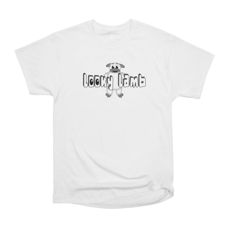 Looky Lamb Women's Heavyweight Unisex T-Shirt by Games for Glori Shop