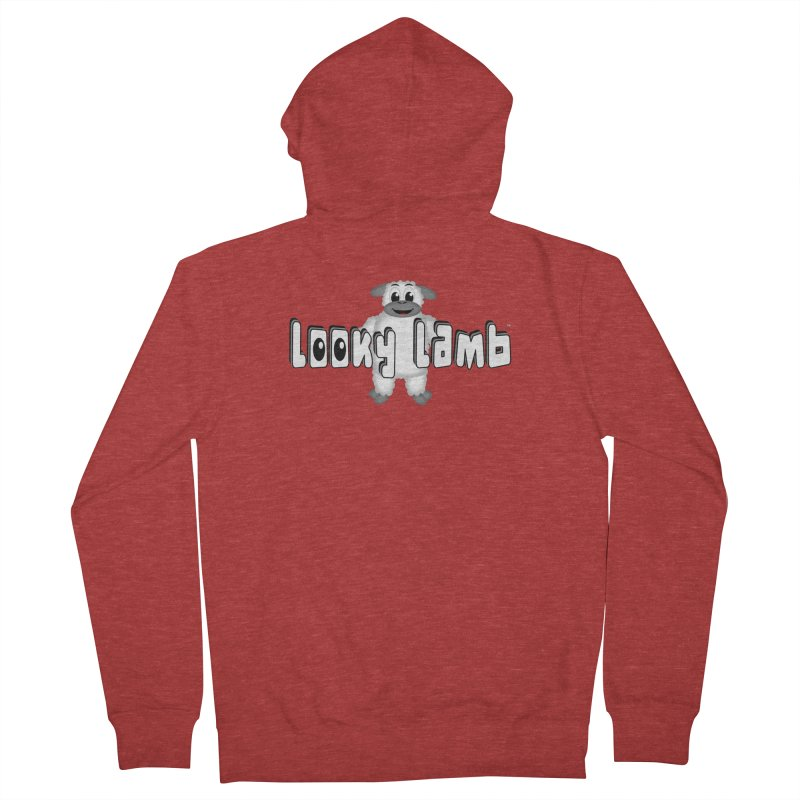 Looky Lamb Men's French Terry Zip-Up Hoody by Games for Glori Shop