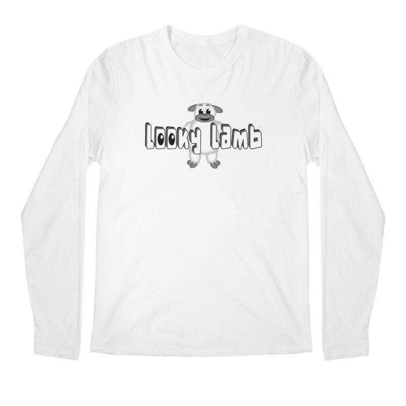 Looky Lamb Men's Regular Longsleeve T-Shirt by Games for Glori Shop