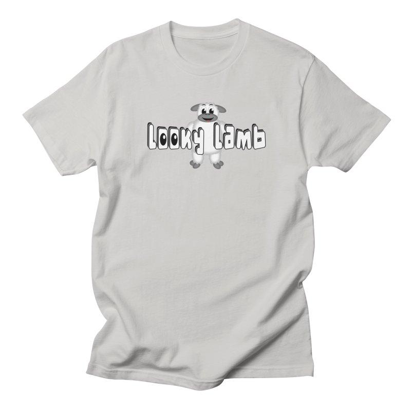 Looky Lamb Men's Regular T-Shirt by Games for Glori Shop