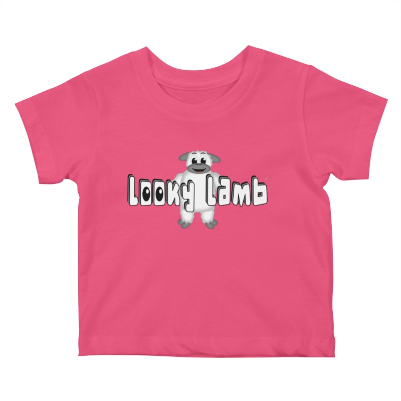 Looky Lamb Kids Baby T-Shirt by Games for Glori Shop