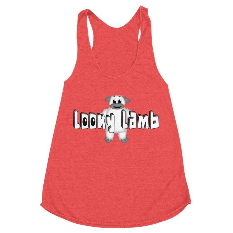 Looky Lamb Women's Racerback Triblend Tank by Games for Glori Shop
