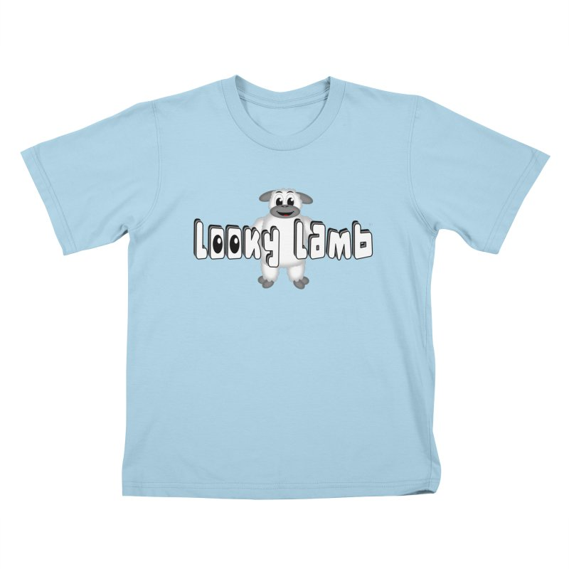 Looky Lamb Kids T-Shirt by Games for Glori Shop