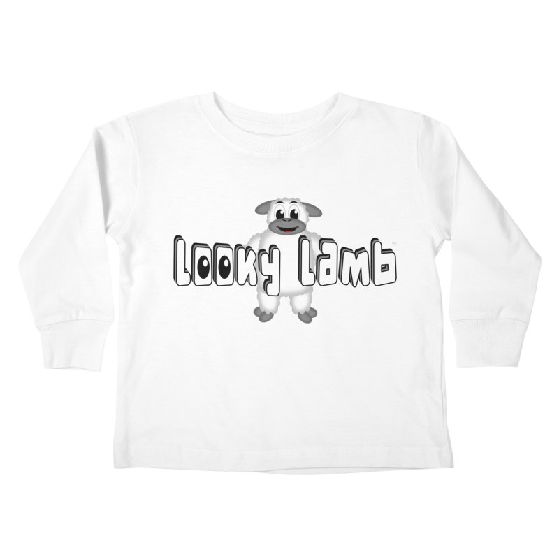 Looky Lamb Kids Toddler Longsleeve T-Shirt by Games for Glori Shop